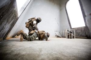 Marines training tactics