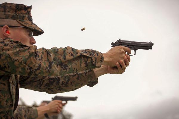 Marine Firing Pistol