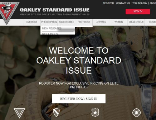 Military Discount Oakley's Using the Standard Issue (SI) Program
